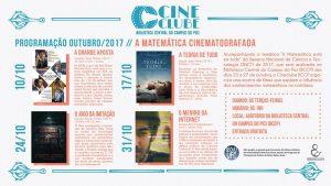 Cine Clube - A Matemática Cinematografada