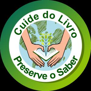 Logomarca Campanha de Preservação do Acervo do Sistema de Bibliotecas da UFC