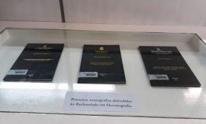 Primeiras monografias defendidas no Curso de Oceanografia foram expostas na Biblioteca do Labomar