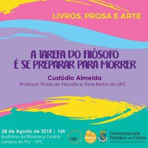 Palestra Professor Custódio Almeida