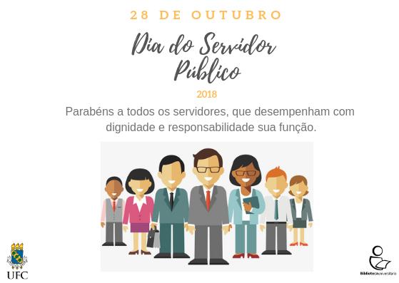 Cartão Dia do Servidor Público