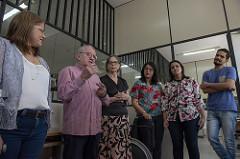 Inauguração oficial da Seção de Atendimento a Pessoas com Deficiência