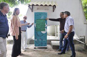 Inauguração de novo ponto do Projeto Livros Livres no Espaço de Convivência da Reitoria
