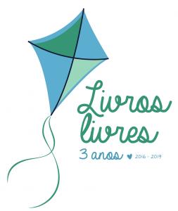 Selo de 3 anos do Livros Livres